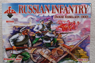 Red Box 1/72 RB72018 Russian Infantry (Boxer Rebellion)